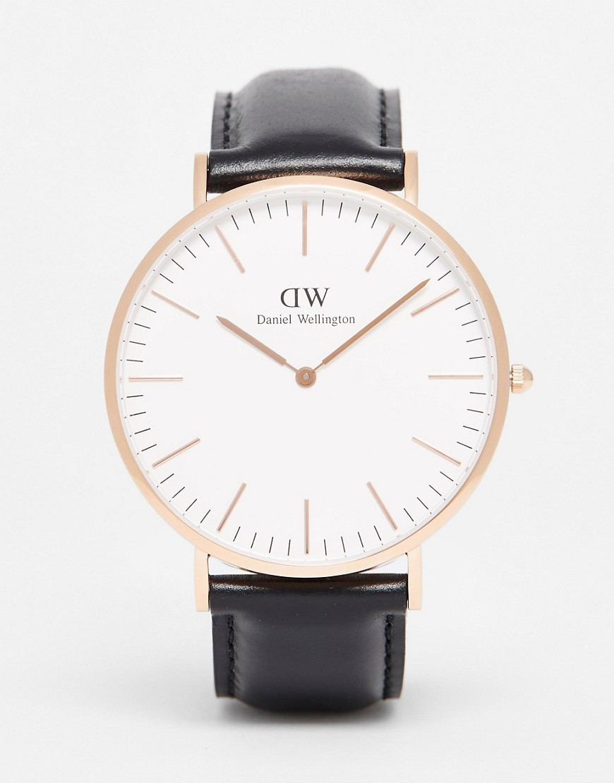 ☆大人気☆Daniel Wellington Sheffield 40mm Gold 送料・関税込