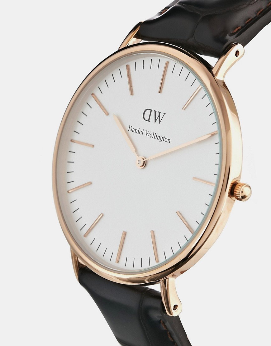 ☆大人気☆Daniel Wellington York 40mm Watch In  送料・関税込