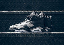 "★WMNS★[NIKE]AIR JORDAN 6 RETRO GS ""COOL GREY""【送料込】"