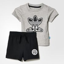 ★ADIDAS KIDS★I SOCCER SHOEST★上下セット★グレー