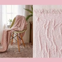 Urban Outfitters(アーバンアウトフィッターズ) ブランケット 【Urban Outfitters】ニットブランケット Loopy Knit