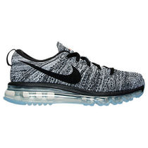 NIKE FLYKNIT AIR MAX WOMEN'S WHITE BLACK 23-28cm 送料無料