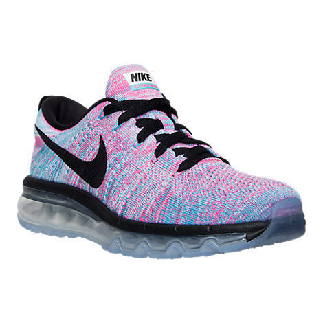 NIKE FLYKNIT AIR MAX WOMEN'S BLUE PINK 23-28cm 送料無料