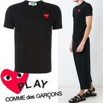 ● COMME des GARCONS PLAY ●ワンポイント Red Heart Tee 黒
