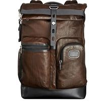 TUMI(トゥミ) バックパック・リュック Tumi ★ 92388 Alpha Bravo Luke Roll-Top Leather Backpack