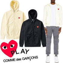 ● COMME des GARCONS PLAY ●新 ワンポイント Red Heart パーカ