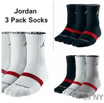 海外限定★送料込み★Nike Air Jordan 3pack Dri-Fit Socks 3色