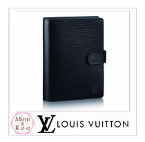 Louis Vuitton*☆エピ*COUVERTURE AGENDA FONCTIONNEL MM☆手帳