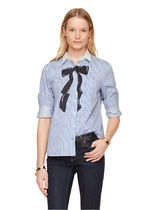 kate spade new york(ケイトスペード) ブラウス・シャツ 期間限定セール! Kate Spade trompe l'oeil bow shirt