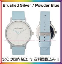 送料/税込【The Horse】本革☆Brushed Silver/Powder Blue♪国発