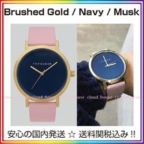 送料/税込【The Horse】本革☆Brushed Gold/Navy/Musk♪国内発