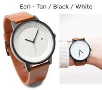 Simple Watch Co(シンプルウォッチカンパニー) アナログ腕時計 送料/税込【Simple Watch Co】本革☆Tan/Black/White♪国内発送