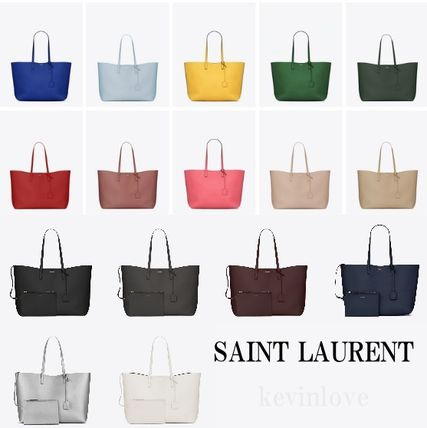 Multicolored and Very s SAINT LAURENT Pouch with leather