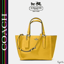 COACH★人気☆CROSBY MINI CARRYALL IN SMOOTH LEATHER (33537)