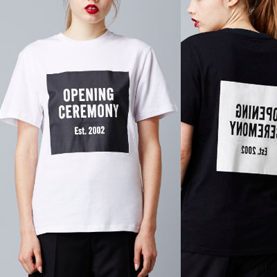 Ballons T shirt logo tops OPENING CEREMONY