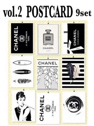 And second deals 9 piece set black and white cool postcard