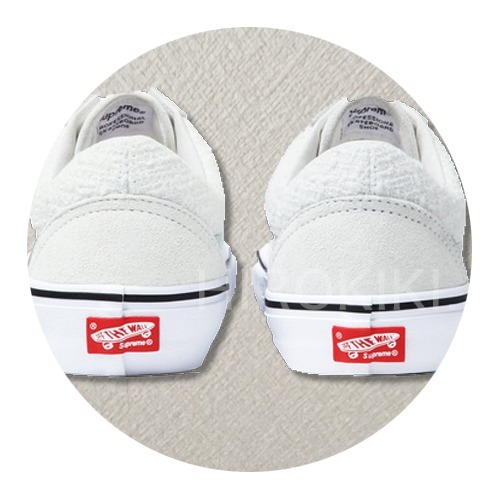 "【送料込】16SS★Supreme Vans Iridescent Old Skool ""White"" 白"