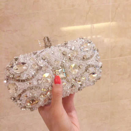 Chain clutch Bijou wedding party