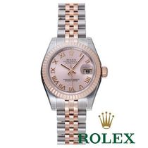 ☆ROLEX☆ Lady Datejust Steel & Pink Gold ピンク♪