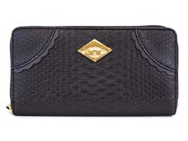 VivienneWestwood 長財布 5140 FRILLY SNAKE BLACK ANGLOMANIA
