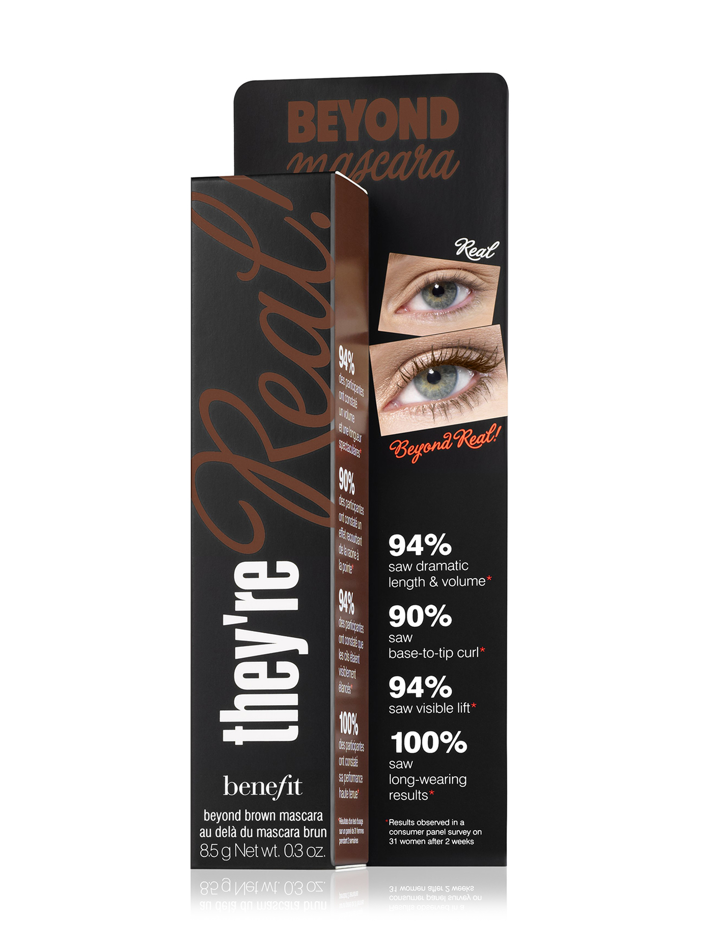 Benefit They're Real! Mascara マスカラ Beyond Brown 送料無料