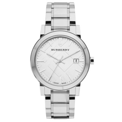 Burberry watches mens city silver BU9000