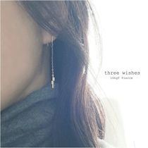 three wishes 14kgチェーンfピアス three bars