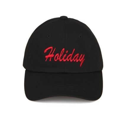 (ORDINARY PEOPLE正規品) HOLIDAY BLACK CAP