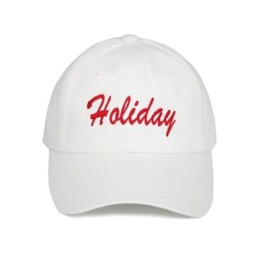 (ORDINARY PEOPLE正規品) HOLIDAY WHITE CAP