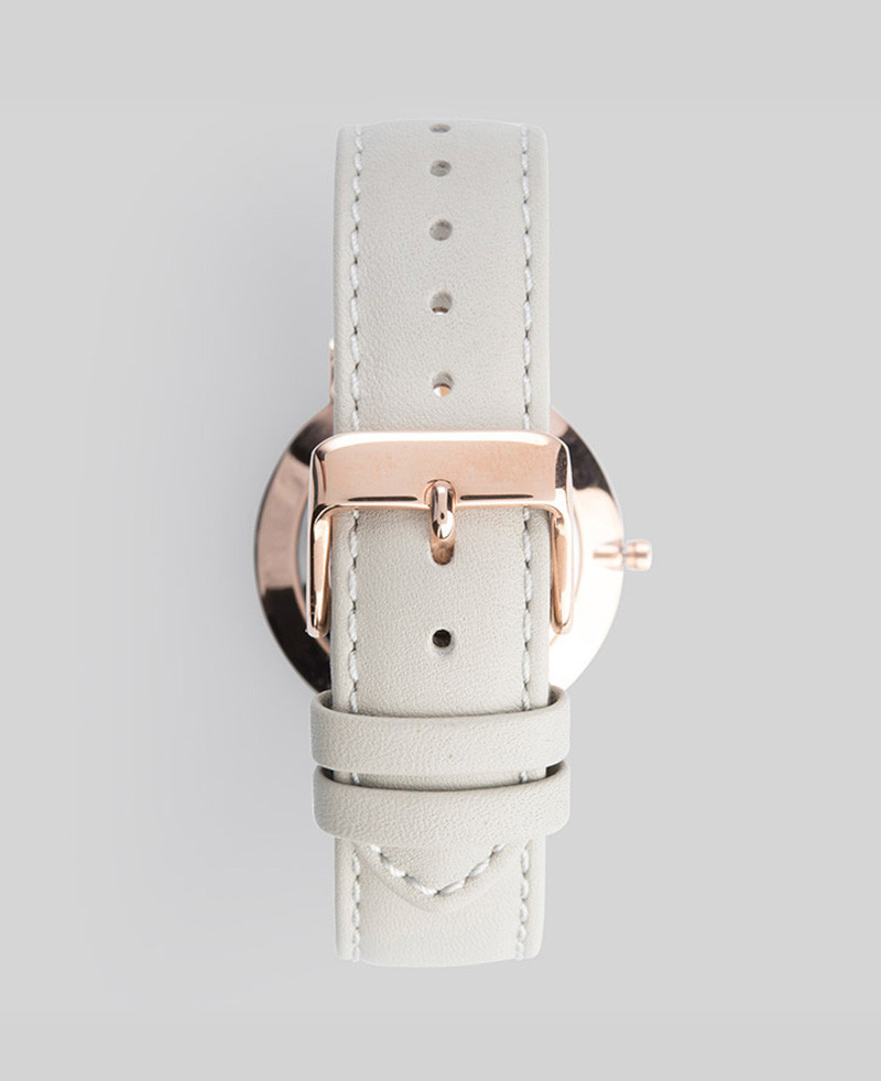 The Horse☆The Classic Rose Gold / Grey Leather☆