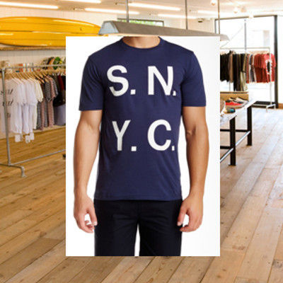 SATURDAYS SURF NYC☆SSNYロゴTEE 国内発送