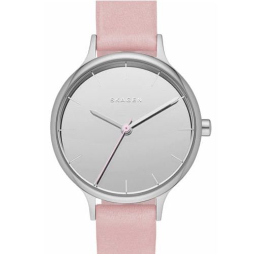 ★人気商品★SKAGEN Grey Dial Grey Leather  SKSKW2411
