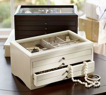 【国内発送】Pottery Barn☆ANDOVER JEWELRY BOX☆ネーム入れ可