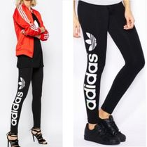 ADIDAS WOMEN'S ORIGINALS☆LINEAR LEGGINGS ロゴレギンスAJ8081
