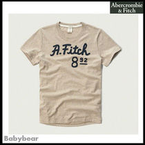 【Abercrombie & Fitch】国内即納☆ Applique Logo Graphic Tee