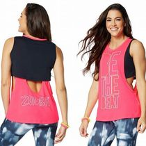 ☆ZUMBA・ズンバ☆Be The Beat Cutout Layered Tank PK