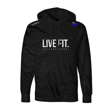 Live Fit(LVFT)☆Live Fit. International Hoodie