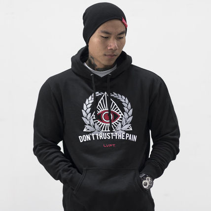 Live Fit(LVFT)☆Don't Trust The Pain Hoodie