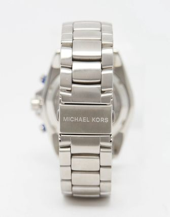 Michael Kors Jetmaster Chronograph Watch In Stainless Steel