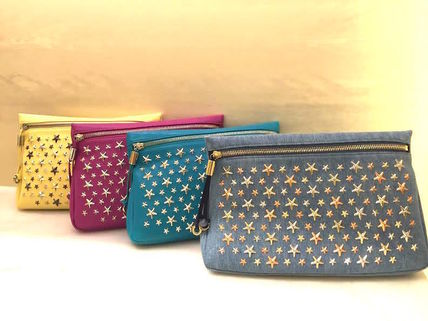 50% off sale limited edition JIMMY CHOO studded Pouch