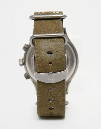 Timex Expedition Scout Chronograph Watch In Green