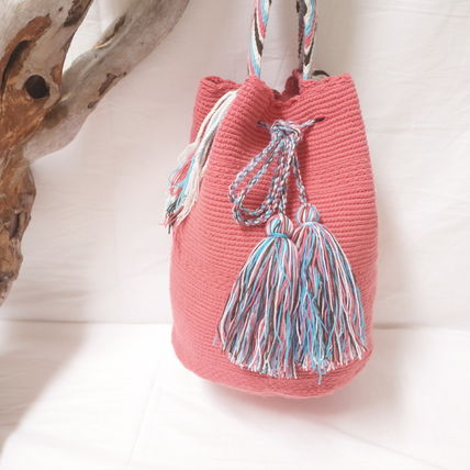 ショルダーバッグ・ポシェット WAYUU MOCHILA SOLID BAG from La Guajira Colombia