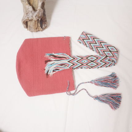 ショルダーバッグ・ポシェット WAYUU MOCHILA SOLID BAG from La Guajira Colombia (10)