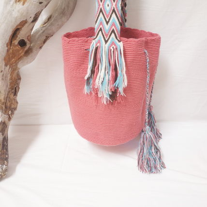 ショルダーバッグ・ポシェット WAYUU MOCHILA SOLID BAG from La Guajira Colombia (3)