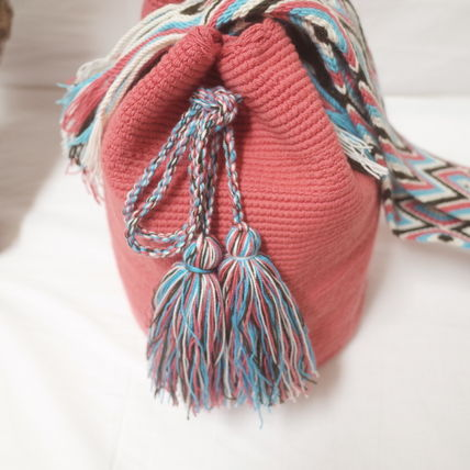 ショルダーバッグ・ポシェット WAYUU MOCHILA SOLID BAG from La Guajira Colombia (5)