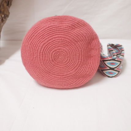 ショルダーバッグ・ポシェット WAYUU MOCHILA SOLID BAG from La Guajira Colombia (8)
