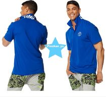 H28.6月新作★【ZUMBA】Poppin' Collar Polo(Surf)Z2T00287