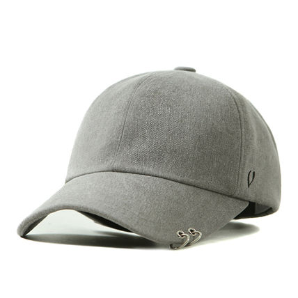 [VIBRATE][BLACK LINE] TWIN RING BALL CAP (gray)キャップ帽子
