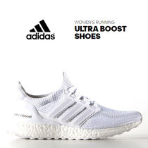 ADIDAS ULTRA BOOST SHOES ALL WHITE ホワイト【レディース】