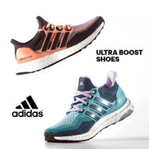 ADIDAS ULTRA BOOST SHOES ピンク グリーン 【レディース】